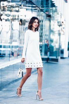 40 Komplett-Weiß auf Weiß Outfits für diesen Sommer