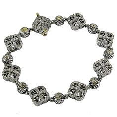Designer Andrea Candela, all hand crafted from Spain in Sterling Silver and 18kt Gold set with Diamonds$599