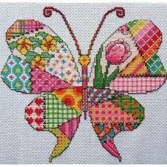 Trabajos de patchwork. El patchwork puede servir para mucho más que para hacer mantas y cojines y prueba de ello es esta recopilación de ideas. Vía https://www.facebook.com/1410913899158964