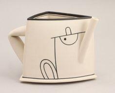 Nicholas Homoky (Hungarian/British, b.1950) A small Teapot Form, 1983