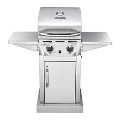 Char-Broil Stainless 2-Burner (20,000-BTU) Liquid Propane Gas Grill
