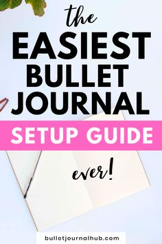 Bullet Journal Index, Bullet Journal How To Start A, Bullet Journal Spread, Spreads, Bujo, Journaling, Track, Learning, Easy