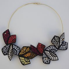 You have got to see Holly Goeckler's beautiful and unique jewelry at the Smithsonian Craft Show April 27-30.