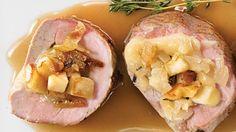 Filet de porc farci aux pommes et à l'oka classique - Recetye d'automne essayer!