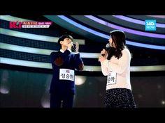 SBS [K팝스타] - 정승환&박윤하(감성돔) '슬픔 속에 그댈 지워야만 해' - YouTube