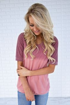 Pink Dye Top