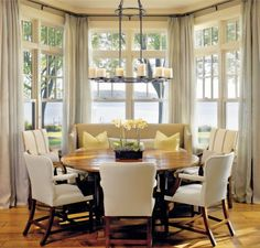 Traditional Dining Room With Antique Carpet High Backed Chairs Delectable Dining Room Traditional Inspiration Design