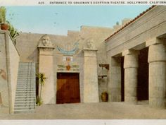 3/14/15  Historic Egyptian Theatre Tour / FOREVER HOLLYWOOD | Discover Los Angeles