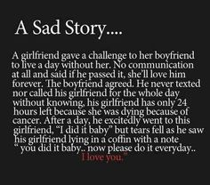 I started crying when I read this :'(