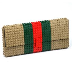 Tribute Clutch Purse Made With Lego Bricks Free Shipping Handbag Legobag Trending Fashion Gift