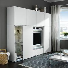 Ikea-BESTA - sliding doors