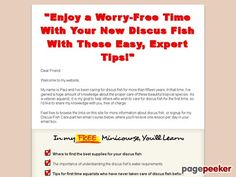 """Discus Fish Information - http://positivelifemagazine.com/discus-fish-information/ http://pagepeeker.com/t/l/discusfish4u.com%2fdiscusfishsalesletter-30616.html  Discus Fish Information     ***Get your free domain and free site builder***  Interested? Click here to learn more!    Please follow and like us:  var addthis_config =   url: """""""",  title: """""""""""