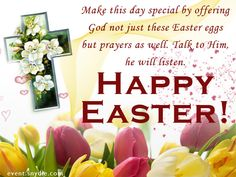 254 best easter wishes and greetings images on pinterest easter share this on whatsappshare this on whatsapp easter card sayings easter wishes messages happy m4hsunfo