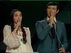 Eurovision 1975 Spain - Sergio & Estíbaliz - Tú volverás