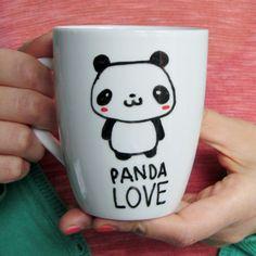 Panda Mug Cute Animal Mugs