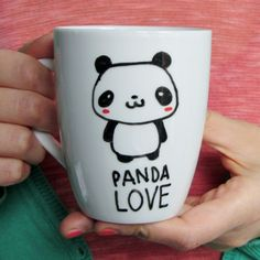 Panda Mug Cute Animal Mugs