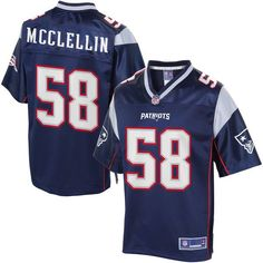 Shea McClellin New England Patriots NFL Pro Line Youth Player Jersey - Navy - $74.99
