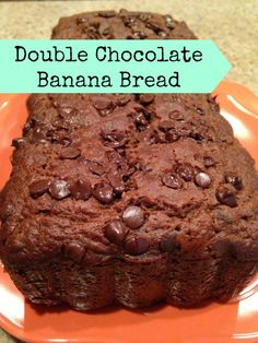 Double Chocolate Chip Banana Bread