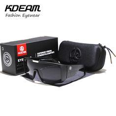 94ec6ca45ce Sunglasses Men Sport Goggle Women Sun Glasses Cool Black Windproof UV400  With case