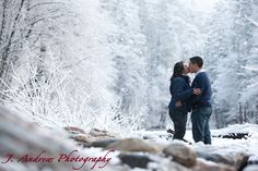 engagement photos snow - Google Search