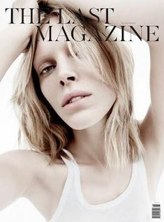 The Last Magazine S/S 11 Cover (The Last Magazine).     Daniel Jackson - Photographer  Alastair McKimm - Fashion Editor/Stylist  Rita Marmor - Hair Stylist  Hannah Murray - Makeup Artist  Iselin Steiro - Model