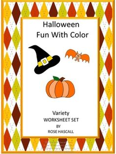 Halloween is an exciting time for kids. They love dressing up as their favorite character. And, of course, there is the candy that is big part of Halloween. The fun can begin with this Halloween Fun With Colors Variety Worksheet Set. This Halloween Fun With Colors contains 26 pages of a variety of worksheets as follows; Color Matching, Trace the Lines, Color Identification, Ordinal Number, Counting, What Comes Next , What Doesn't Belong, Count the Black Cats, Addition, Subtraction, Mazes