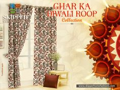 Keep aside all the old and dull colored curtains and replace it with these bright colored very fresh collection of curtains designed especially for Diwali. Shop now varied range of curtains at https://skipperhomefashions.com/diwali-special . . . . #HomeDecorStuff #DiwaliTheme #DiwaliSpecial #GharKaNayaRoop #GharKaDiwaliRoop #DiwaliDecor #ShopNow #SkipperHomeFashions