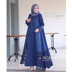 New style hijab kulot motif 51 ideas Abaya Fashion, Muslim Fashion, Fashion Outfits, Muslim Long Dress, Dress Brukat, Modele Hijab, Abaya Designs, Mocca, Muslim Women
