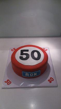Abraham taart; 50th birthday cake