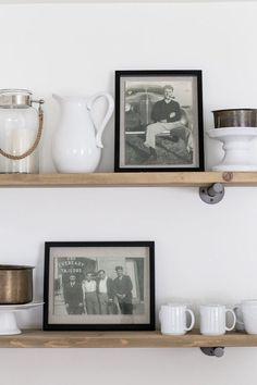 Love how these restored Vintage photos are being displayed! Vintage Family Pictures, Displaying Family Pictures, Family Pictures On Wall, Display Family Photos, Old Family Photos, Old Photos, Antique Photos, Vintage Photographs, Vintage Photos