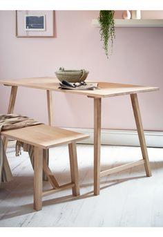 NEW Raw Oak Table - Indoor Living