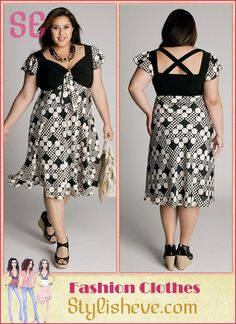 Plus Size Casual and Cocktail Dresses For Curvy Women