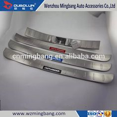 China Manufacturer Stainless Steel Rear Inner Bumper Foot Plate for 2016 Mitsubishi Outlander
