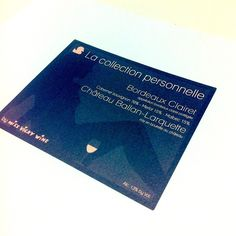 Bordeaux Clairet - First of a new wine range #CollectionPersonnelle #vinsdeVicky @Regis Chaigne