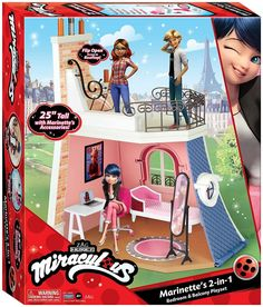 New Miraculous Ladybug dolls from Playmates. Ladybug, Cat Noir, Rena Rouge, Queen Bee and more - YouLoveIt.com Marinette Miraculous Ladybug, Miraculous Ladybug Queen Bee, Miraculous Ladybug Toys, Little Girl Toys, Baby Girl Toys, Toys For Girls, Lol Dolls, Barbie Dolls, Miraclous Ladybug