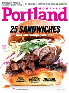 Portland Monthly Cover for 3/1/2014