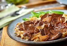 Beef with Caramelized Shallots...