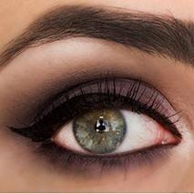 Eye Makeup Must-Try: Navy & Purple Matte Smoky Shadow