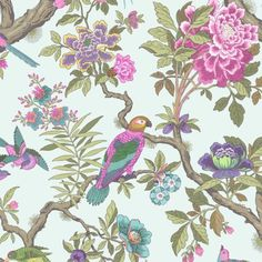 Cole & Son FONTAINEBLEAU ROSE Wallpaper