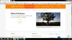 how to get access to web of science,thomson reuters