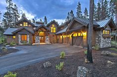 Stunning Mountain Home with Four Master Suites - 54200HU | 1st Floor Master Suite, 2nd Floor Master Suite, Bonus Room, Butler Walk-in Pantry, CAD Available, Craftsman, Den-Office-Library-Study, Luxury, Mountain, PDF, Photo Gallery, Premium Collection, Split Bedrooms | Architectural Designs