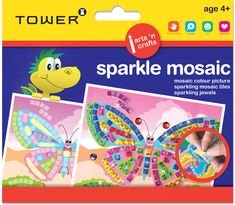 Place shiny adhesive mosaic tiles on the picture board to practice fine motor skills while having fun. Office Organisation, Picture Tiles, Crafts For Kids, Arts And Crafts, Mosaic Pictures, Picture Boards, Fine Motor Skills, Colorful Pictures, Mosaic Tiles
