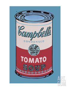 Campbell's Soup Can, 1965 (Pink and Red) Print