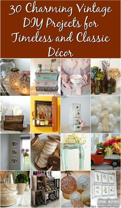 35 diy flower vases creative tutorials do it yourself pinterest 30 charming vintage diy projects for timeless and classic decor with tutorials solutioingenieria Gallery