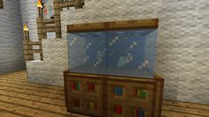 Fish Tank.......... AWESOME! I do this fish tank all the time! Good small thing to take up unused space.