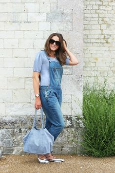 How To Wear Dungarees Casually | Monica Beatrice Welburn | The Elgin Avenue Blog