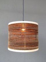corrugated pendant 14″