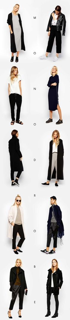 Nice Business Casual Outfit The Minimal classic outfit fashion board - plan maison 5 pieces