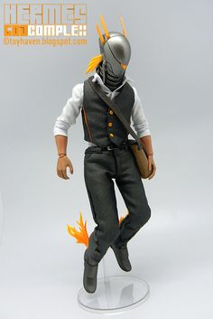 "toyhaven: Review II: FoxBox Studio ""God Complex: Hermes"" 1/6 Figure"
