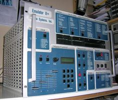 Rare Classic Sampler, Emulator II+ rackmount! #emu #emulator2+ #emulator #synth #sampler #studiogear #producersgear Music Production Equipment, Recording Equipment, Female Urinal, Music Museum, Music Software, Kids Electronics, Studio Gear, Drum Machine, The Infernal Devices
